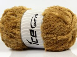 Lot of 4 x 100gr Skeins Ice Yarns PANDA (100% MicroFiber) Yarn Light Camel