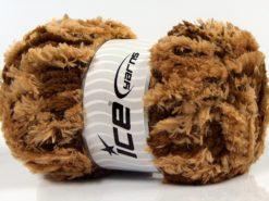 Lot of 4 x 100gr Skeins Ice Yarns PANDA DUO (100% MicroFiber) Yarn Brown Shades