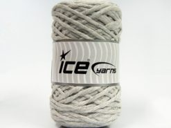 Lot of 2 x 200gr Skeins Ice Yarns NATURAL COTTON CHUNKY (100% Cotton) Yarn Light Grey