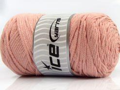 250 gr ICE YARNS MACRAME COTTON (100% Cotton) Hand Knitting Yarn Powder Pink