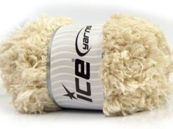 Lot of 2 x 200gr Skeins Ice Yarns LAMBKIN (100% MicroFiber) Yarn Ecru