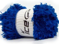 Lot of 2 x 200gr Skeins Ice Yarns LAMBKIN (100% MicroFiber) Yarn Saxe Blue
