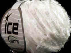 Lot of 8 Skeins Ice Yarns SALE RIBBON Hand Knitting Yarn White