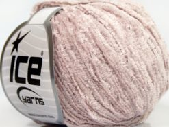 Lot of 8 Skeins Ice Yarns SALE CHENILLE Hand Knitting Yarn Light Pink