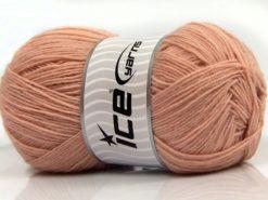 Lot of 4 x 100gr Skeins Ice Yarns SOLID SOCK (75% Superwash Wool) Yarn Powder Pink