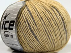 Lot of 8 Skeins Ice Yarns SALE WINTER (25% Wool) Yarn Yellow Cream Shades Salmon