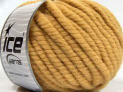 Lot of 3 x 100gr Skeins Ice Yarns JUMBO PURE WOOL (100% Wool) Yarn Milky Brown