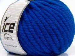 Lot of 3 x 100gr Skeins Ice Yarns JUMBO PURE WOOL (100% Wool) Yarn Saxe Blue