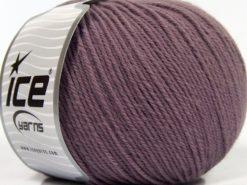 Lot of 3 x 100gr Skeins Ice Yarns SUPERWASH MERINO WOOL Yarn Lavender
