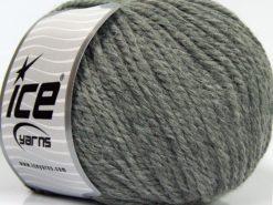 Lot of 3 x 100gr Skeins Ice Yarns PERUVIAN (25% Alpaca 25% Wool) Yarn Dark Grey