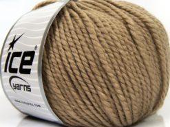 Lot of 3 x 100gr Skeins Ice Yarns PERUVIAN (25% Alpaca 25% Wool) Yarn Camel