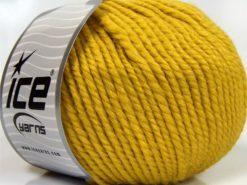 Lot of 3 x 100gr Skeins Ice Yarns PERUVIAN (25% Alpaca 25% Wool) Yarn Yellow