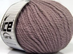 Lot of 3 x 100gr Skeins Ice Yarns PERUVIAN (25% Alpaca 25% Wool) Yarn Light Lavender