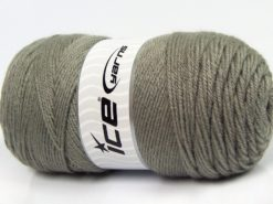 Lot of 2 x 175gr Skeins Ice Yarns SALE PLAIN Hand Knitting Yarn Light Grey