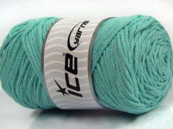 250 gr ICE YARNS MACRAME COTTON BULKY (100% Cotton) Yarn Mint Green