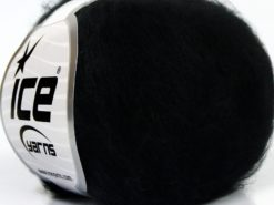Lot of 10 Skeins Ice Yarns SALE PLAIN Hand Knitting Yarn Black