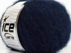Lot of 8 Skeins Ice Yarns SALE WINTER (22% Wool) Hand Knitting Yarn Dark Navy