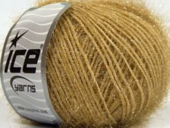 Lot of 8 Skeins Ice Yarns SPARKLE SOFT Hand Knitting Yarn Milky Brown