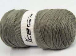 Lot of 2 x 200gr Skeins Ice Yarns SAVER Hand Knitting Yarn Light Grey