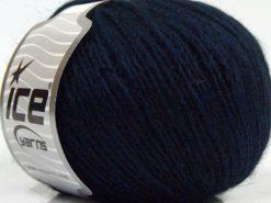 Lot of 8 Skeins Ice Yarns SALE WINTER (40% Wool) Hand Knitting Yarn Dark Navy