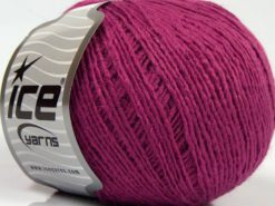 Lot of 8 Skeins Ice Yarns MILD FINE (5% Elastan) Hand Knitting Yarn Lavender