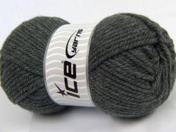 Lot of 4 x 100gr Skeins Ice Yarns Bulky ATLAS Hand Knitting Yarn Grey