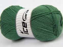 Lot of 4 x 100gr Skeins Ice Yarns MERINO GOLD (60% Merino Wool) Yarn Light Green