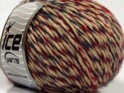 Lot of 8 Skeins Ice Yarns SALE WINTER (40% Wool) Yarn Red Maroon Milky Brown Teal
