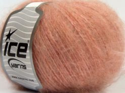 Lot of 8 Skeins Ice Yarns SALE WINTER (10% Mohair 10% Wool) Yarn Pink