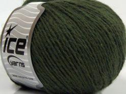 Lot of 8 Skeins Ice Yarns SALE WINTER (40% Wool) Hand Knitting Yarn Khaki