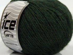 Lot of 8 Skeins Ice Yarns SALE WINTER (40% Wool) Hand Knitting Yarn Dark Khaki