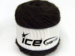 Lot of 2 x 150gr Skeins Ice Yarns SALE CAKES YARN (50% Wool) Yarn Coffee Brown