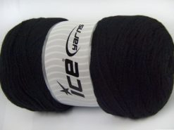 350 gr ICE YARNS SALE PLAIN Hand Knitting Yarn Black