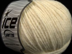 Lot of 8 Skeins Ice Yarns BABY ALPACA MERINO (30% Baby Alpaca 31% Extrafine Merino Wool) Yarn Ecru