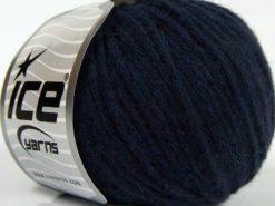 Lot of 8 Skeins Ice Yarns BABY ALPACA MERINO (30% Baby Alpaca 31% Extrafine Merino Wool) Yarn Dark Navy