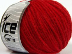 Lot of 8 Skeins Ice Yarns BABY ALPACA MERINO (30% Baby Alpaca 31% Extrafine Merino Wool) Yarn Red