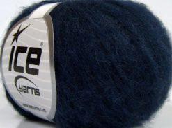 Lot of 10 Skeins Ice Yarns DUSTY WOOL (32% Wool 1% Elastan) Yarn Navy