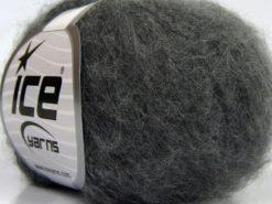 Lot of 10 Skeins Ice Yarns SALE WINTER (25% Wool) Hand Knitting Yarn Dark Grey