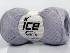 Lot of 8 Skeins Ice Yarns CASHMERE VISCOSE (15% Cashmere 85% Viscose) Yarn Lilac