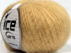 Lot of 10 Skeins Ice Yarns DUSTY WOOL (32% Wool 1% Elastan) Yarn Cafe Latte