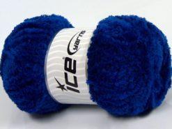 Lot of 4 x 100gr Skeins Ice Yarns PANDA (100% MicroFiber) Yarn Royal Blue