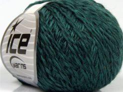 Lot of 8 Skeins Ice Yarns SALE WINTER (50% Wool) Hand Knitting Yarn Oil Green