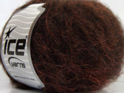 Lot of 8 Skeins Ice Yarns SALE WINTER Hand Knitting Yarn Dark Brown Copper