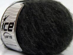 Lot of 8 Skeins Ice Yarns SALE WINTER (18% Wool) Hand Knitting Yarn Grey Shades