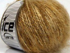 Lot of 8 Skeins Ice Yarns SALE WINTER (20% Wool) Yarn Brown Shades