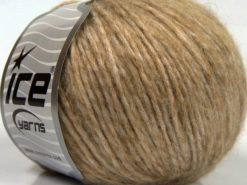 Lot of 8 Skeins Ice Yarns SALE WINTER (30% Wool 20% Viscose) Yarn Camel Shades