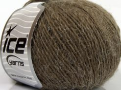 Lot of 8 Skeins Ice Yarns SALE LUXURY-PREMIUM (20% Angora) Yarn Camel