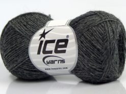 Lot of 8 Skeins Ice Yarns SALE LUXURY-PREMIUM (100% Wool) Yarn Dark Grey