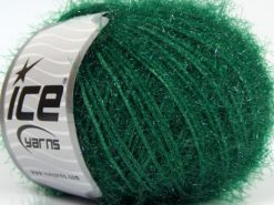 Lot of 8 Skeins Ice Yarns SPARKLE SOFT Hand Knitting Yarn Green