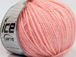 Lot of 8 Skeins Ice Yarns ALPACA LIGHT (18% Alpaca 20% Wool) Yarn Baby Pink
